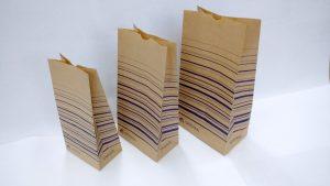 紙角底袋サンプル