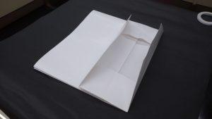 2枚貼りの袋を貼る手順12